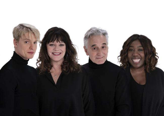 Romantic comedy: Freddie Fox, Josie Lawrence, Henry Goodman and Chizzy Akudolu will star in Edmond de Bergerac at Grand Opera House, York