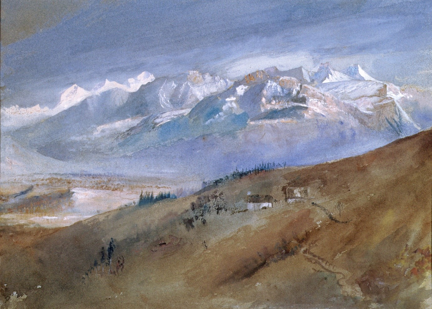 Ruskin, Turner & the Storm Cloud: Watercolours and Drawings