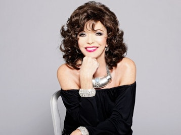 Dame date: Joan Collins will be all talk  at Grand Opera House on February 26