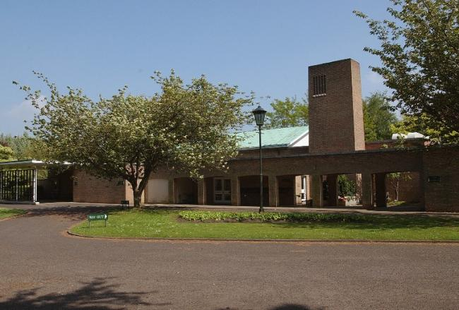 York Crematorium, where funeral services will resume from June 1 inside the building