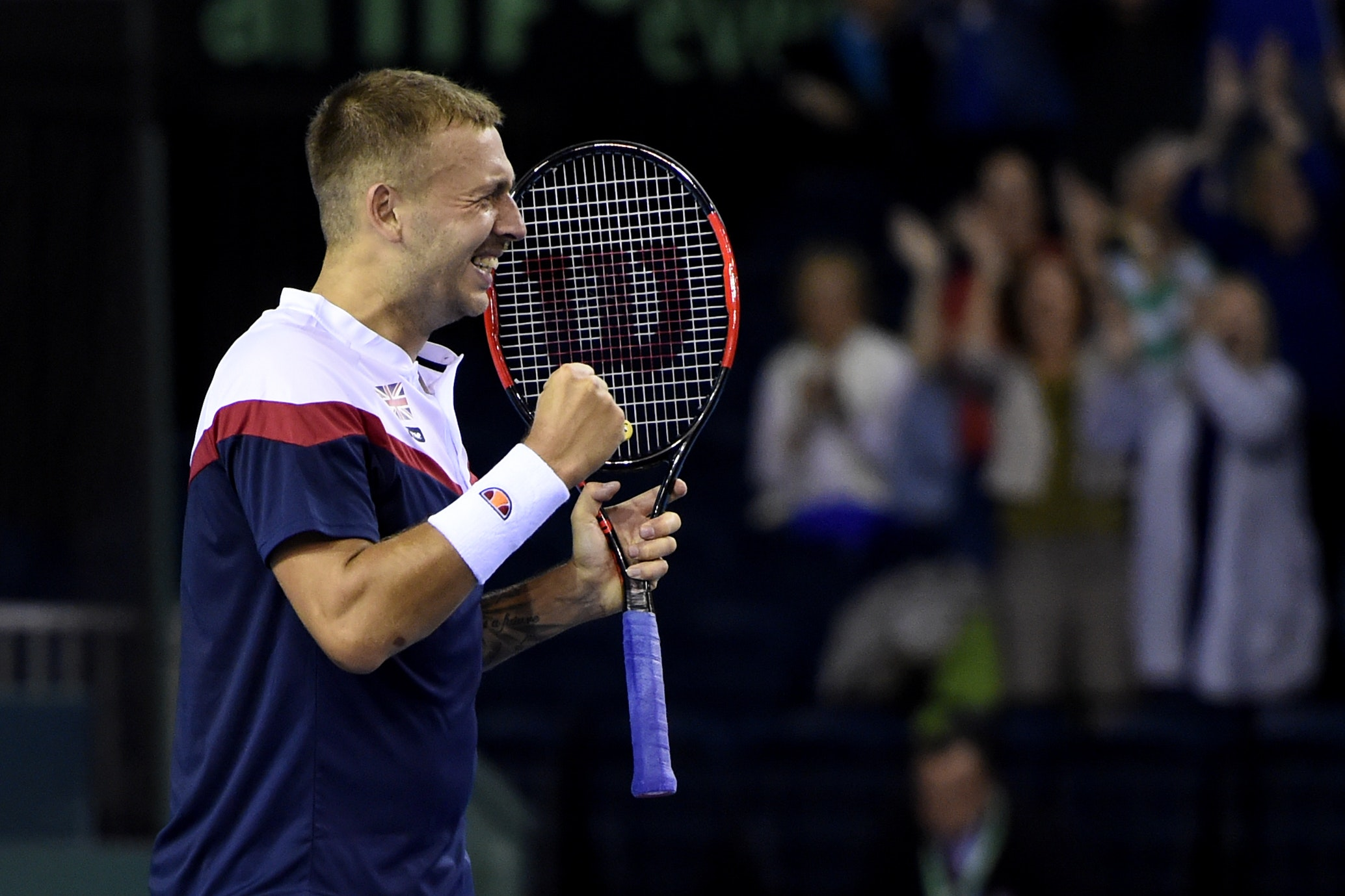 Great Britain v Uzbekistan – Davis Cup – World Group – Play-Off Round – Emirates Arena