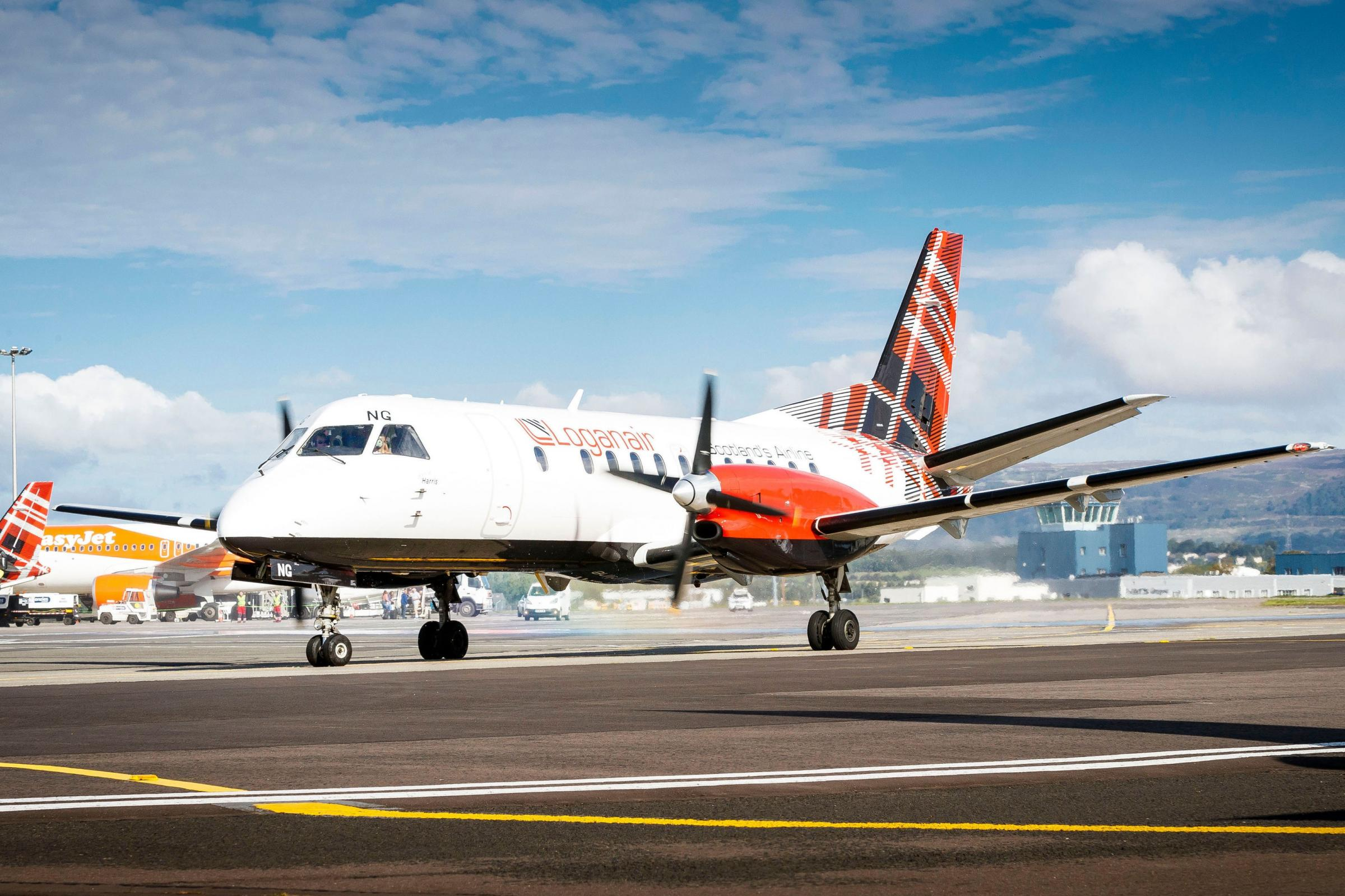 Loganair makes first flight as independent airline
