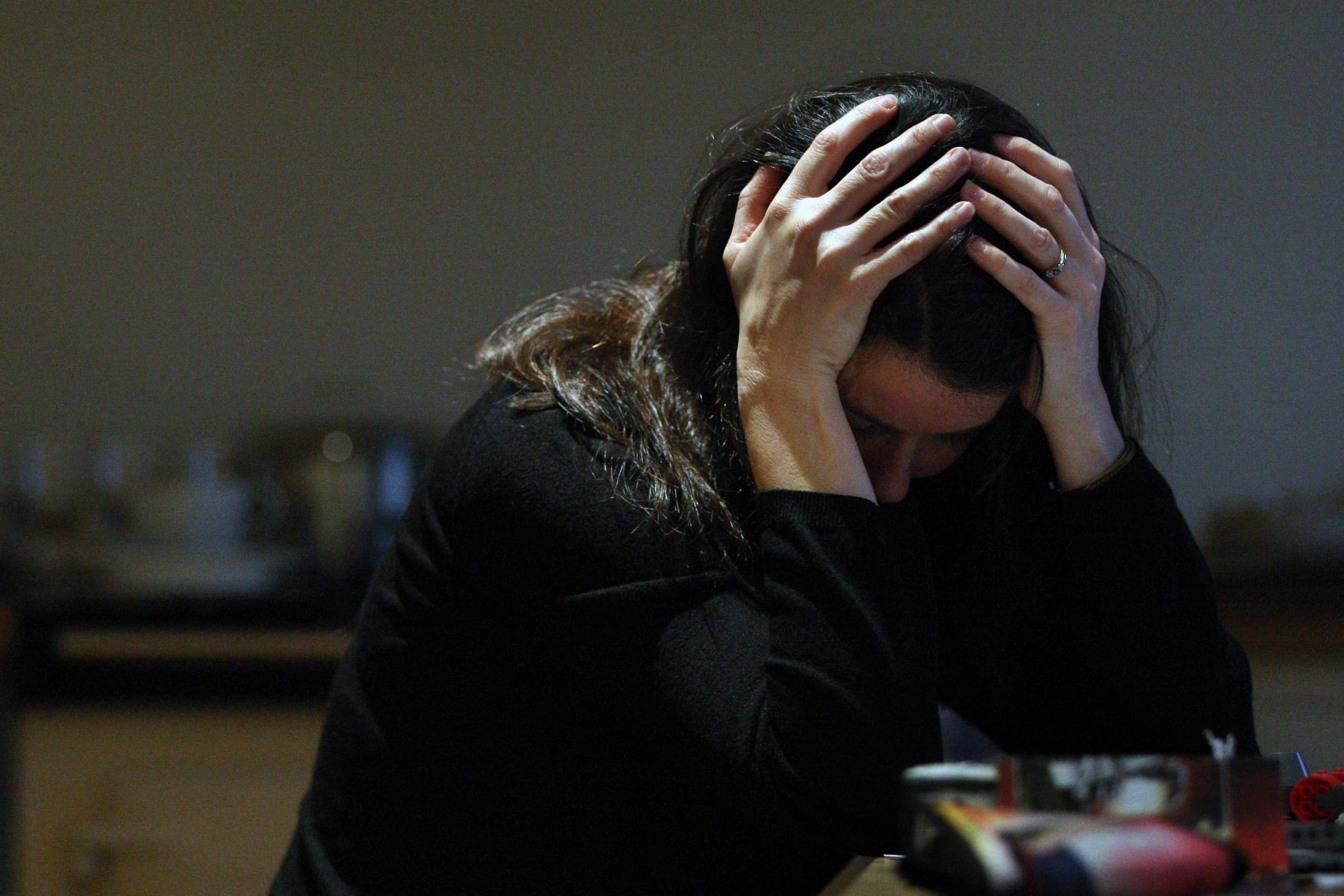 The extent of trauma and PTSD in young British people has been exposed (David Cheskin/ PA)