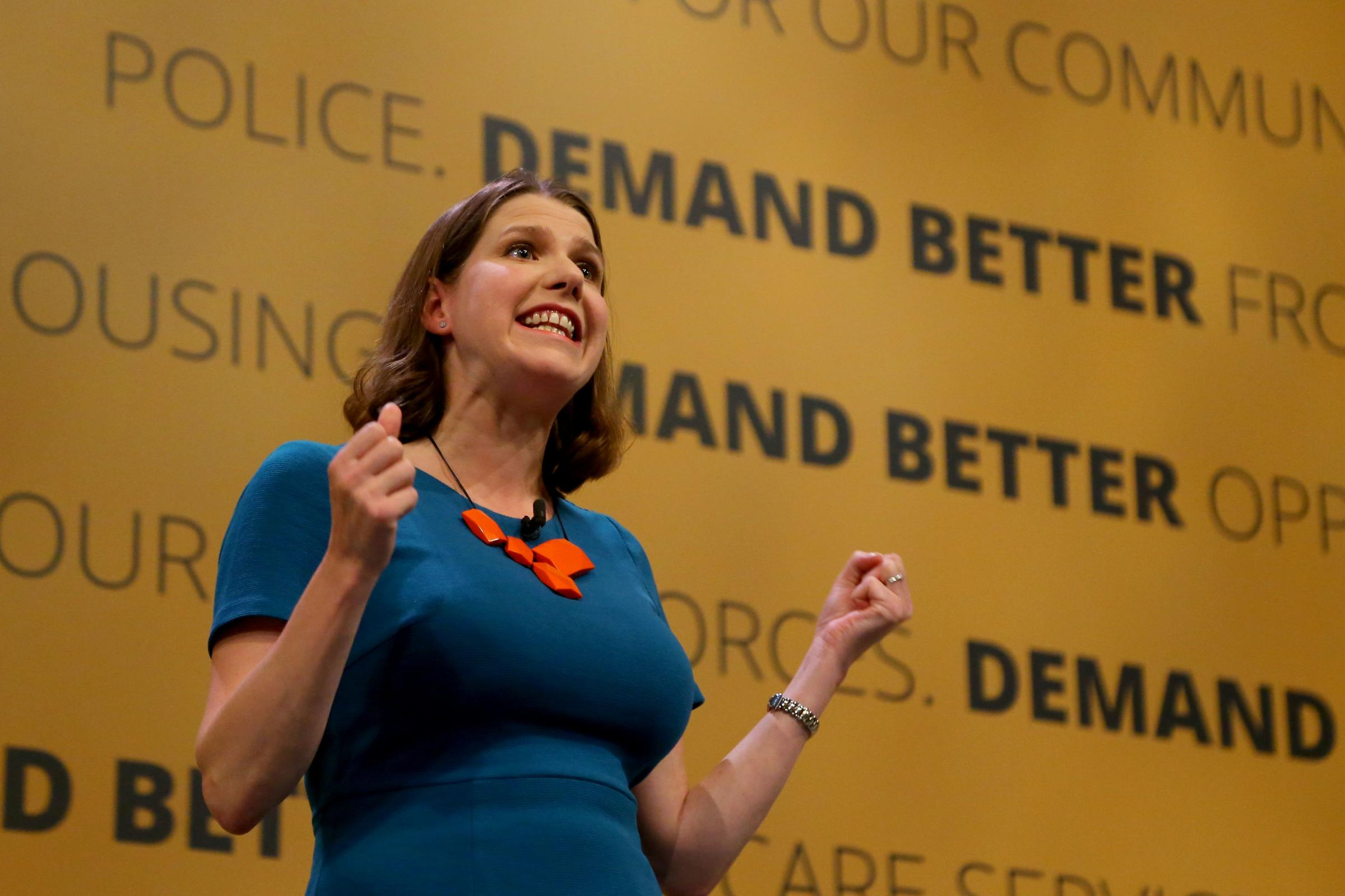 Liberal Democrat MP Jo Swinson