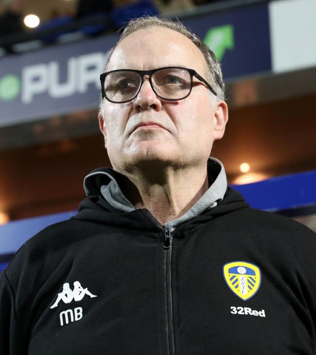 Marcelo Bielsa   Picture: Bradley Collyer/PA Wire