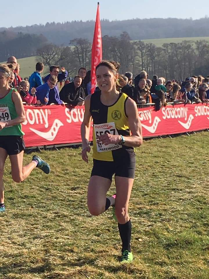 York Knavesmire Harriers' Helen Cross, who helped Yorkshire win gold at the Inter-County Cross Country Championships