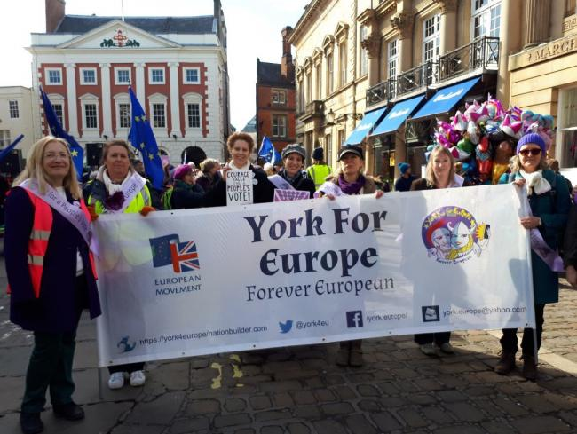 Campaign group York for Europe will be thanked by Lib Dem councillors