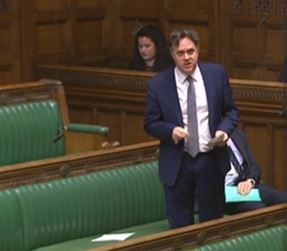 Julian Sturdy MP in the House of Commons
