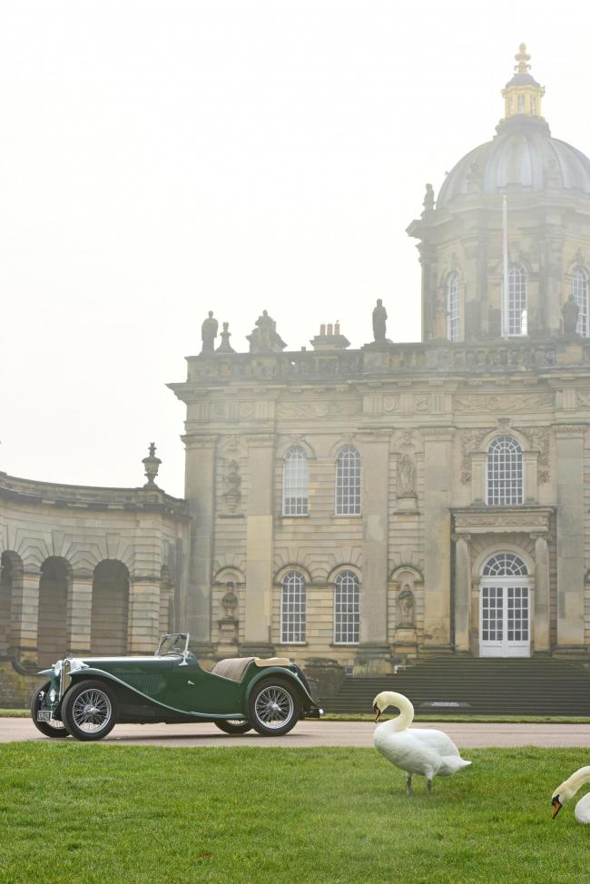 A Father's Day Classic Car and Motor Show will be held in the grounds of Castle Howard on June 16