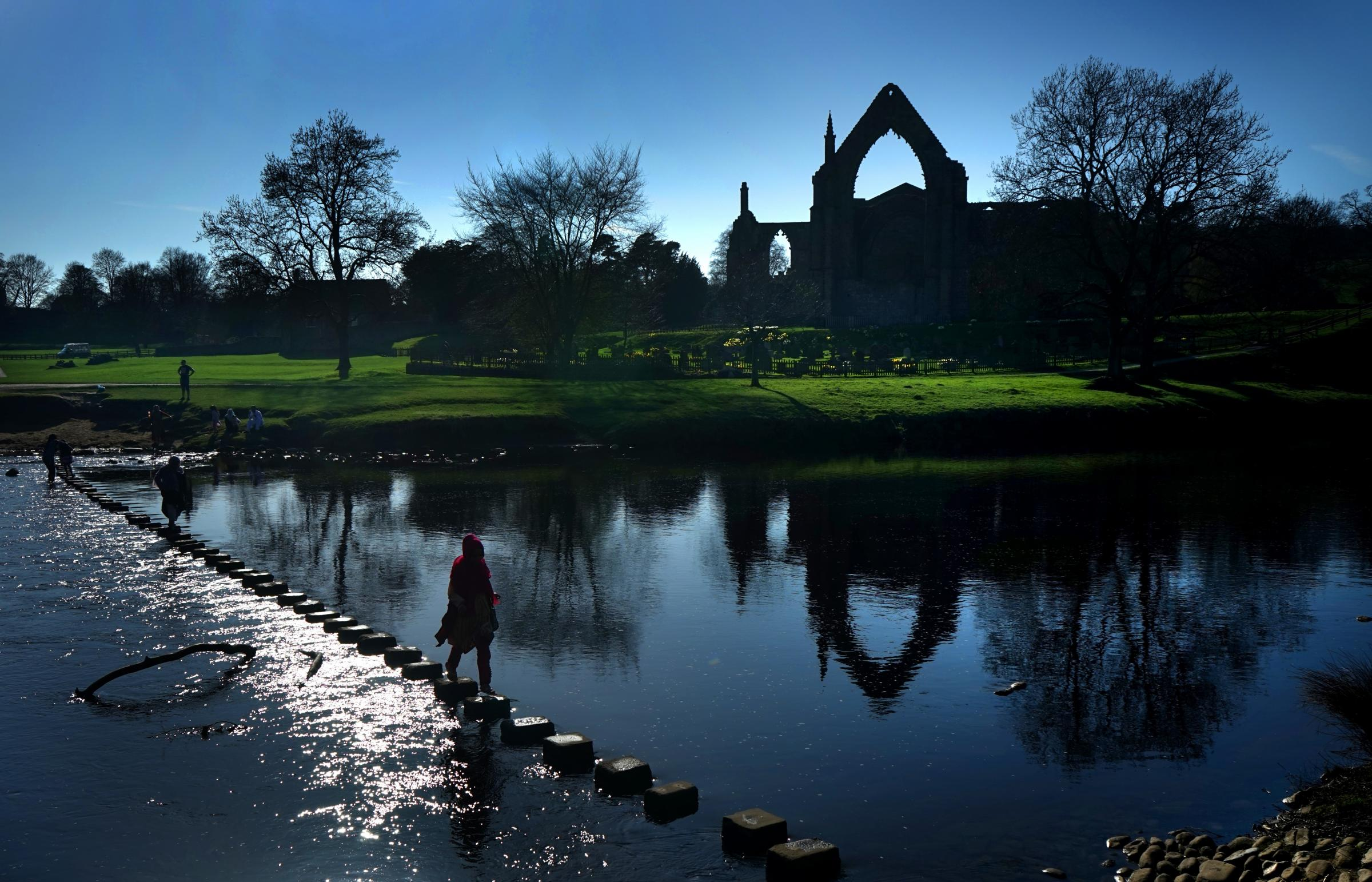Bolton Abbey       Picture Frank Dwyer.