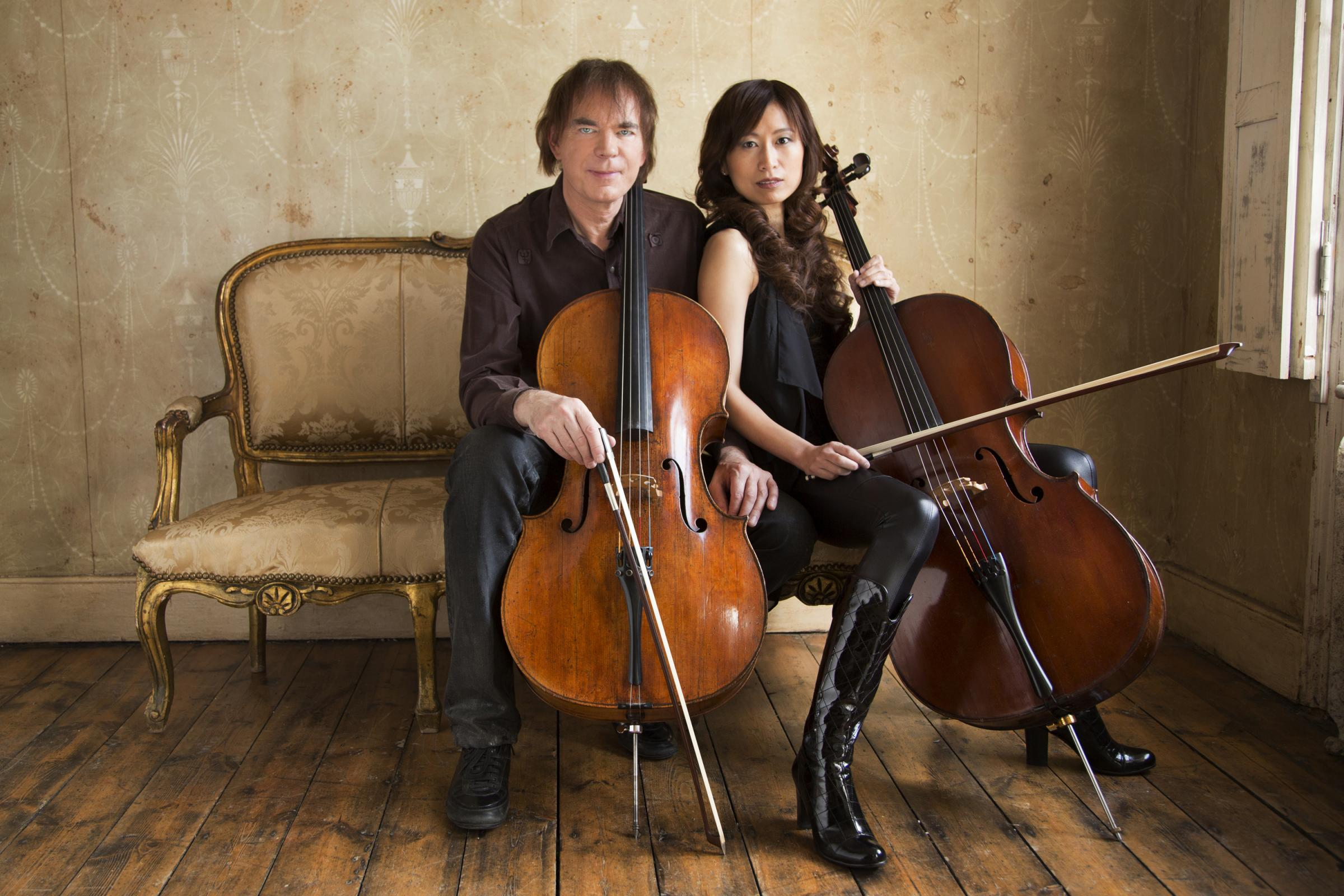 Chapel meeting:  Julian and Jiaxin Lloyd Webber's evening of music and conversation at Malton's Wesley Centre
