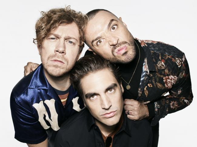 A DAY AT THE RACES: Busted are on their way to York Racecourse