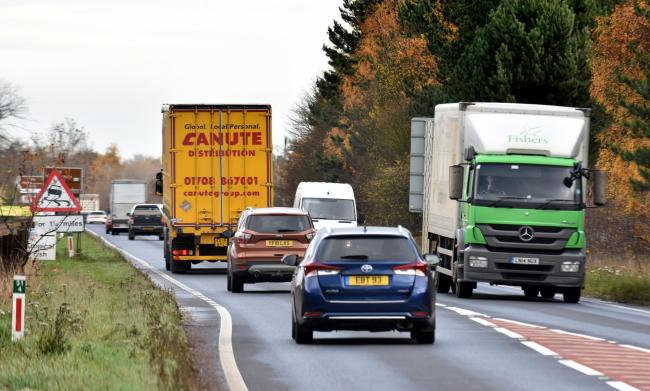 The busy single carriageway A64 near York - hopes of dualling it have been boosted Picture: Frank Dwyer
