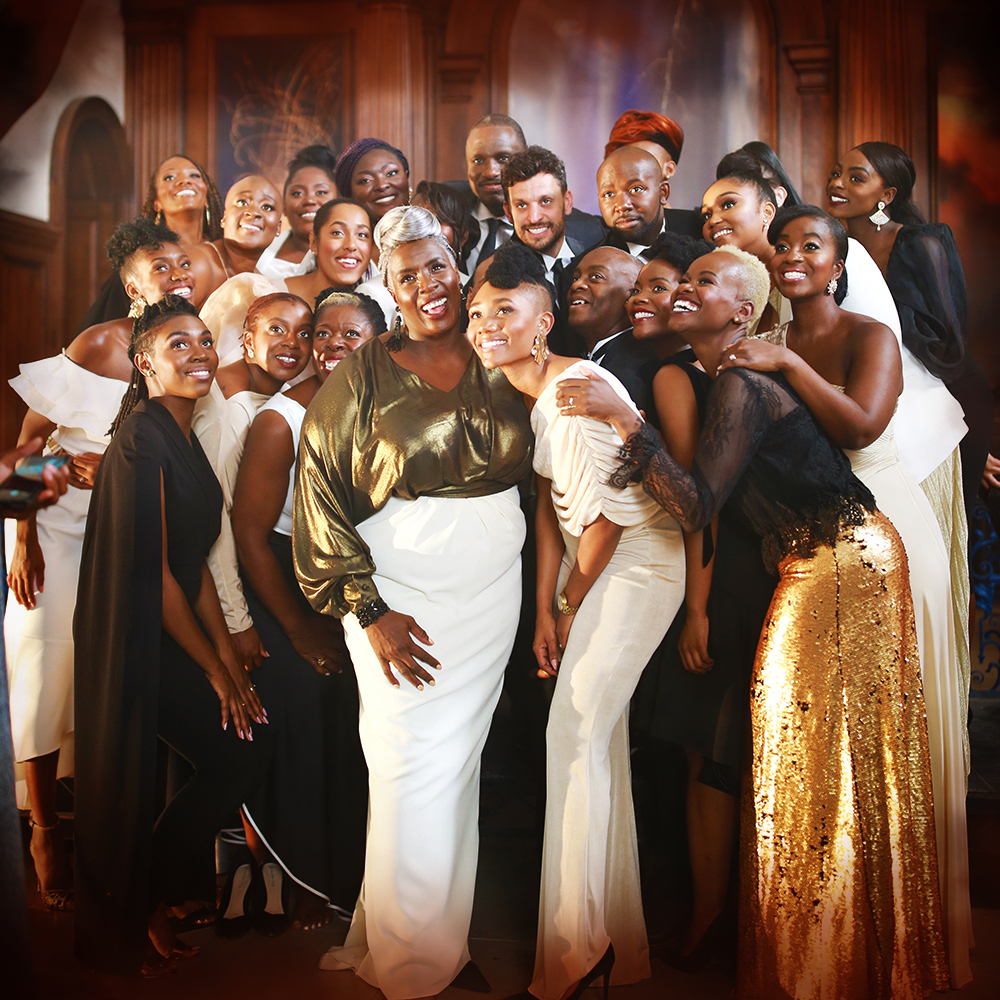 In God's country: The Kingdom Choir gospel singers thrilled their York Barbican audience on Wednes-day night