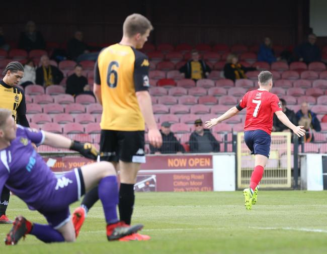 RUNNING AWAY WITH THE POINTS: York City marksman Macaulay Langstaff maintains his team's strong record against teams in the bottom half of the National League North table. Pictures: Gordon Clayton