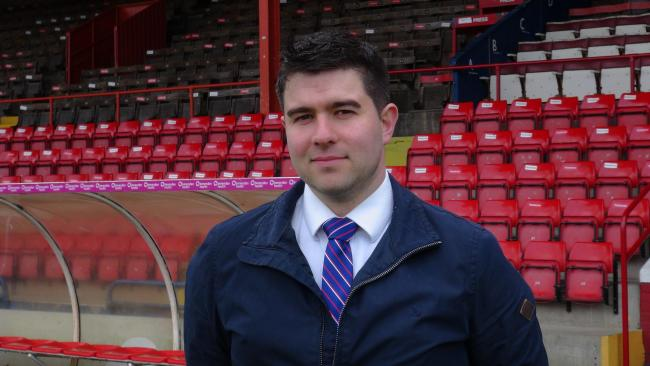 NEW APPOINTMENT: Chris Pegg has joined York City as the club's commercial manager.