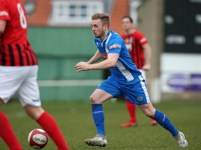 Pickering Town hat-trick hero Danny Earl. Picture: Pickering Town