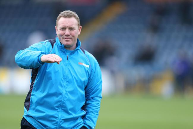 RAISING THE LEVEL: York City boss Steve Watson will be judging the team's next four games to see what the club require to be challenging at the top of the table next term