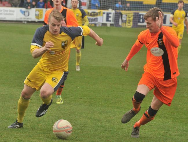 STALWART: Tadcaster Albion's longest-serving player Josh Barrett is set to return for the trip to Frickley Athletic. Picture: Nigel Holland