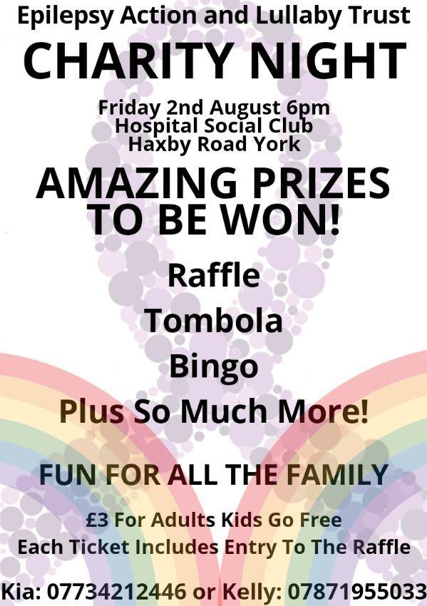 Appeal for prizes for York charity event | York Press
