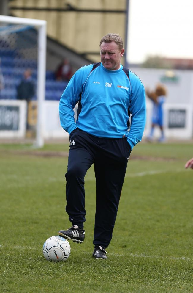 ON THE BALL: Steve Watson has made an enoicouraging start to his York City managerial career. Picture: Gordon Clayton