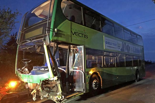 Isle of Wight bus crash