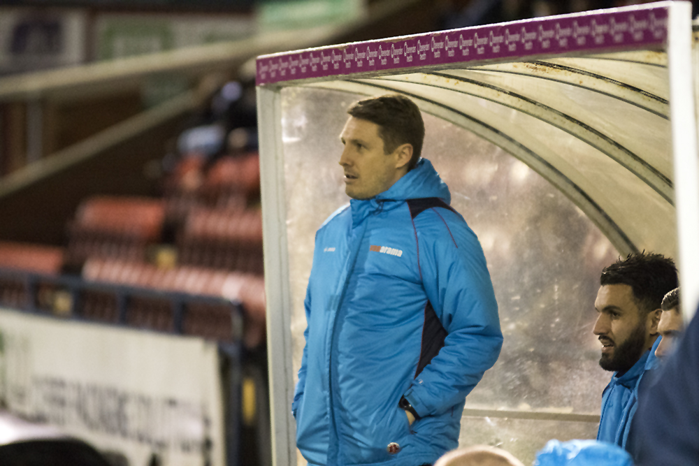 STRIKING QUESTIONS: Assistant-manager Micky Cummins will be interested to see how York City's defence handle National League North's top-three marksmen in consecutive games
