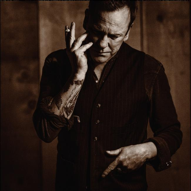 Sharing stories: Kiefer Sutherland's songwriting mode on his second country album, Reckless & Me