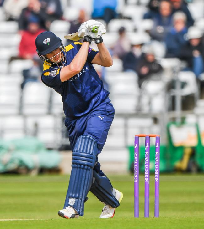 Tom Kohler-Cadmore wants to end with the season on a positive note for Yorkshire   Picture: Ray Spencer