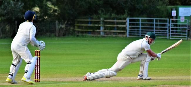 Harry Walmsley hit 37 for Folkton & Flixton