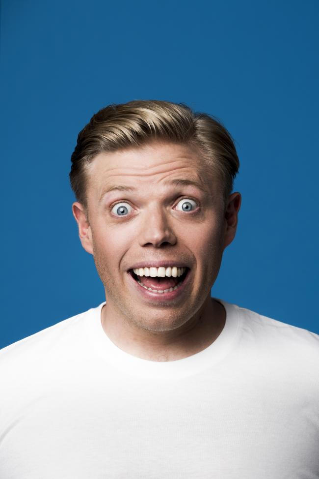 At the double: Rob Beckett to play York Barbican twice. Picture: Matt Crockett
