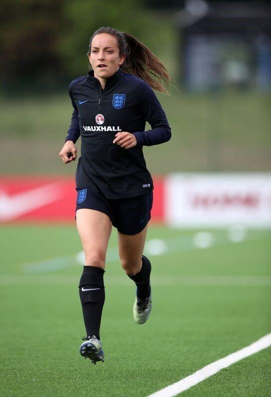 GOING FORTH: Former Copmanthorpe Primary School footballer Lucy Staniforth has been named in the England Women's World Cup squad