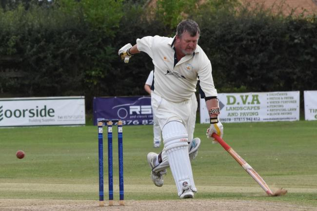 GRAN MASTER: Hemingbrough's Granville North shone with bat and ball during his team's victory over Clifton