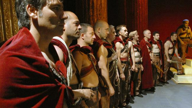 Seizing the opportunity: Italian high-security inmates performing Shakespeare's Julius Caesar in Caesar Must Die!