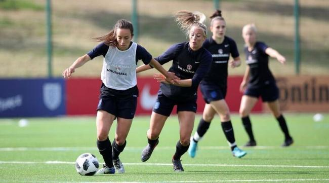 PHIL-GOOD FACTOR: Lucy Staniforth believes England Women's head coach Phil Neville allows her to be the best version of herself