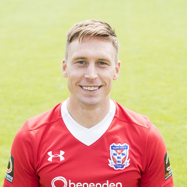 TESTIMONIAL: York City Supporters' Trust will hold a benefit game for Dan Parslow