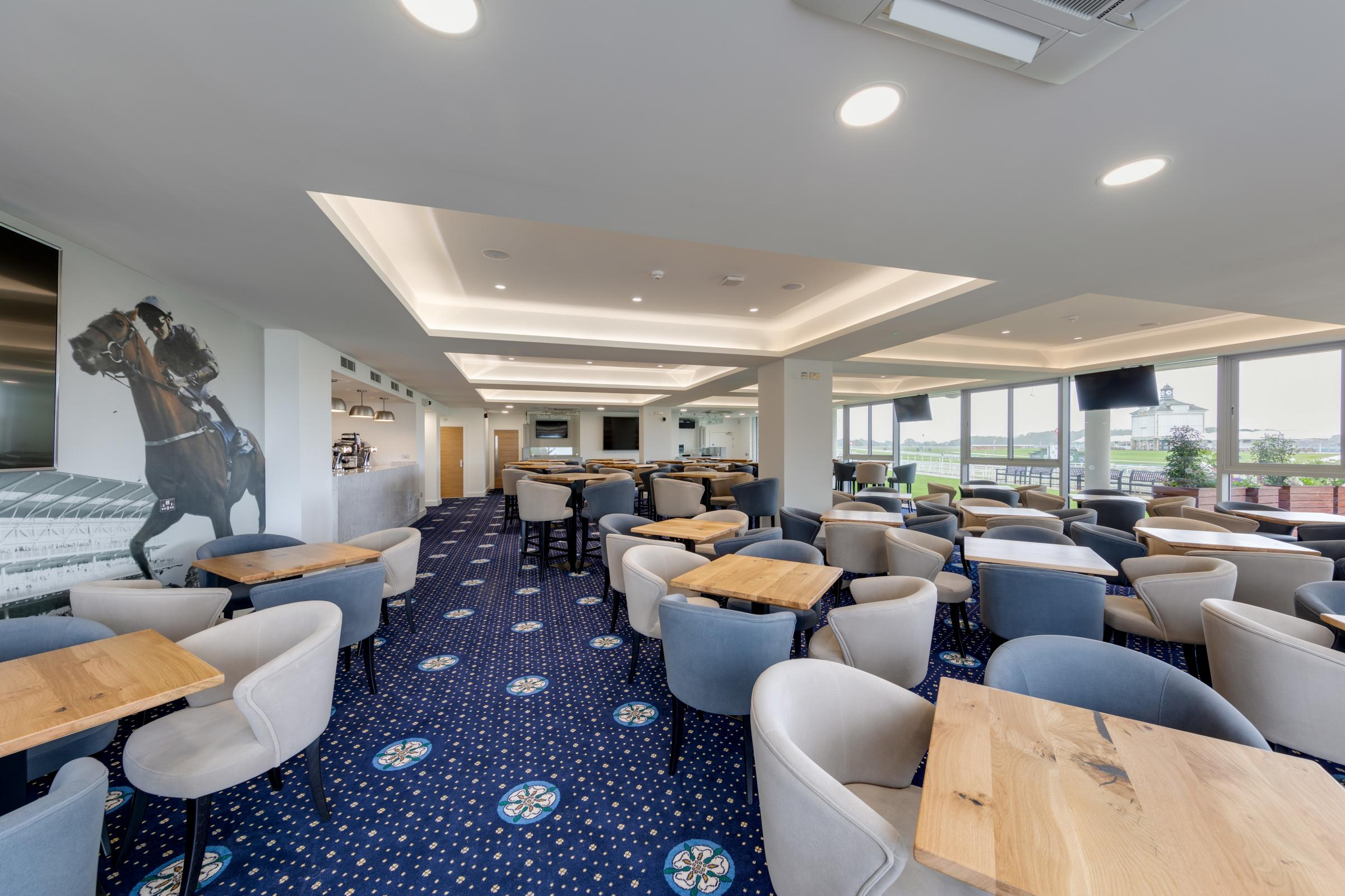 The Premier Racing Lounge at York Racecourse