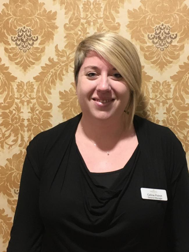 Celine Poirot, the new general manager at Barchester Healthcare's Rivermead Care Home in Norton