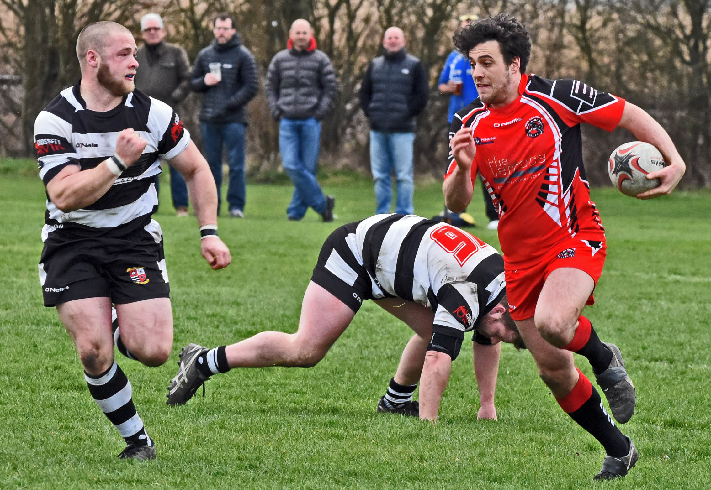 UNAVAILABLE: New Earswick All Blacks half-back Liam Gargan will be another absentee for Saturday's trip to Bentley. Picture: Nigel Holland
