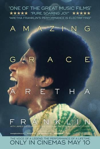 Gospel power: The poster for Aretha Franklin's Amazing Grace