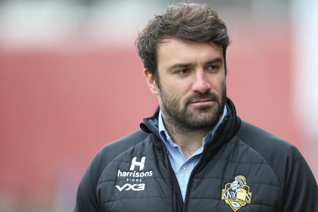 York City Knights coach James Ford. Picture : Gordon Clayton