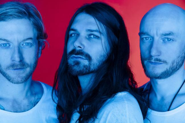 Heading for the coast: Biffy Clyro at Scarborough Open Air Theatre. Picture: Austin Hargrave