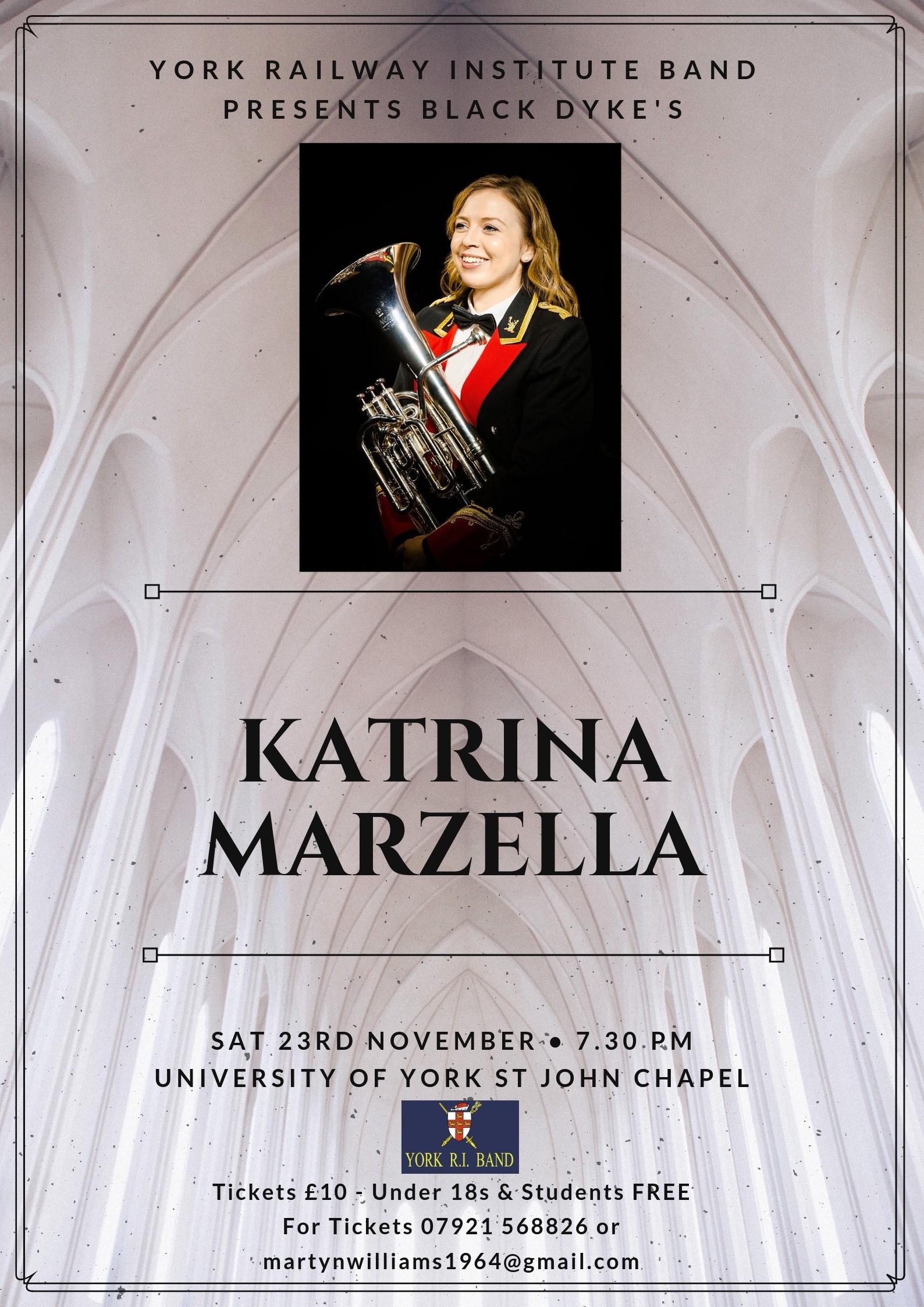Brass Band Concert on 23 November at 19:30