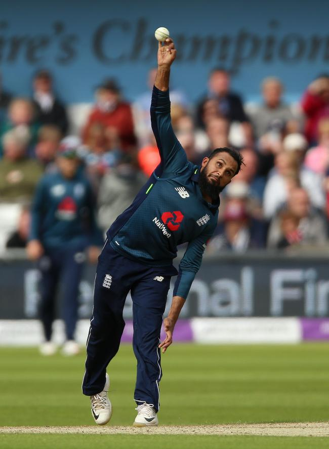 Yorkshire and England spinner Adil Rashid