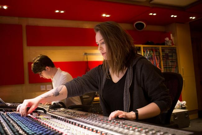 Third-year music production students from York St John University have made a charity album at the famous Abbey Road Studios in London
