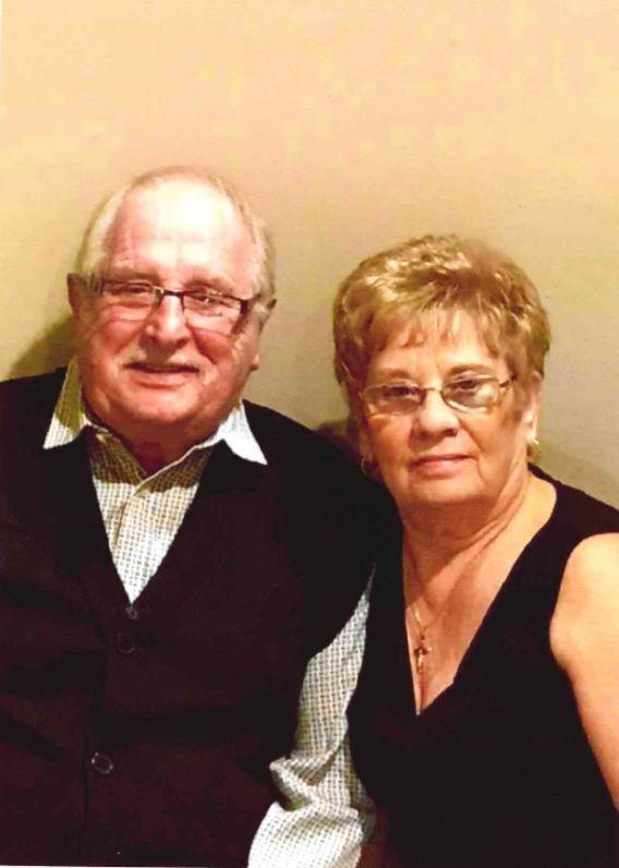 Judy and Geoff Pearce are celebrating their Diamond Wedding Anniversary