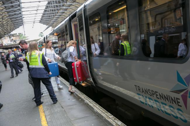 York trains are set to be 'incredibly busy' over the Bank Holiday
