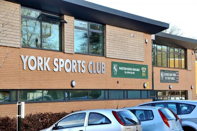 York Sports Club at Clifton Park, the home ground of York RUFC. Picture: David Harrison.