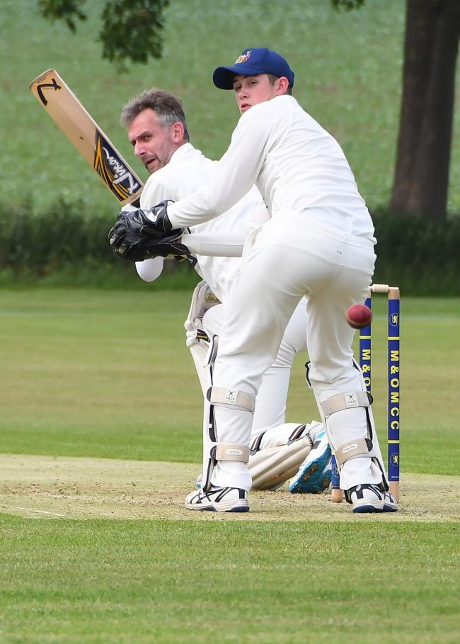 Goole wicket keeper Ben Shelton, whose 55 with the bat was key to their success at Driffield Town. Picture: David Harrison