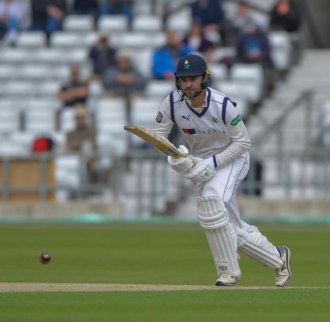 Will Fraine, who enjoyed an opening partnership worth 77 with Adam Lyth. Picture: Ray Spencer